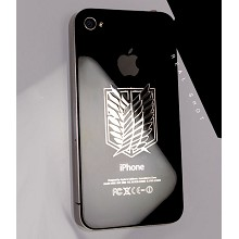Accel World anime metal mobile phone stickers