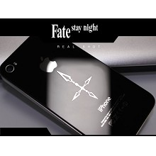 Attack on Titan anime metal mobile phone stickers
