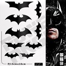 Batman metal mobile phone stickers set(9pcs a set)