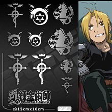 Fullmetal Alchemist anime metal mobile phone stick...