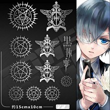 Kuroshitsuji anime metal mobile phone stickers a s...