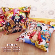 One Piece anime two-sided pillow