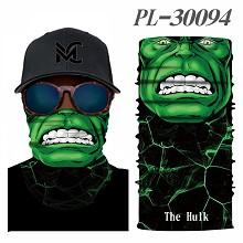 Hulk headgear stocking mask magic scarf neck face mask