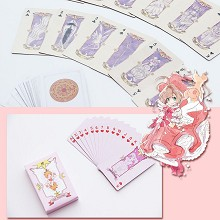 Card Captor Sakura anime pokers playing card
