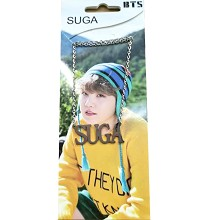 BTS SUGA star necklace