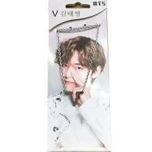 BTS V star necklace