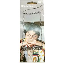 BTS RAP MONSTER star necklace