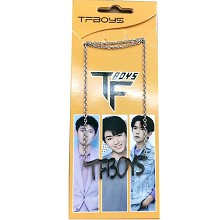 TFBOYS star necklace