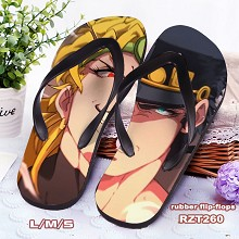 JoJo's Bizarre Adventure anime flip-flops shoes sl...