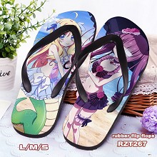 The other anime flip-flops shoes slippers a pair