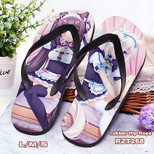 NEKOPARA anime flip-flops shoes slippers a pair