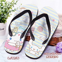 Cinnamoroll anime flip-flops shoes slippers a pair