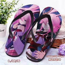 MmiHoYo game flip-flops shoes slippers a pair