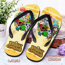 Animal Crossing: New Horizons game flip-flops shoe...