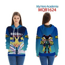 My Hero Academia anime long sleeve hoodie cloth