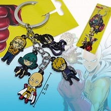 One Punch Man anime key chain