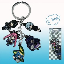 Date A Live anime key chain