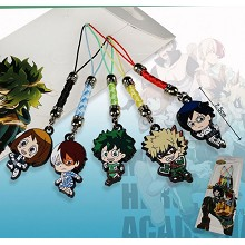 My Hero Academia anime phone straps(5pcs a set)