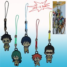 Grande Road anime phone straps(5pcs a set)