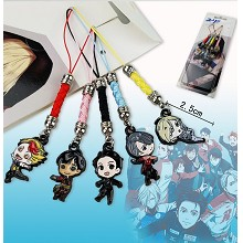 YURI on ICE anime phone straps(5pcs a set)