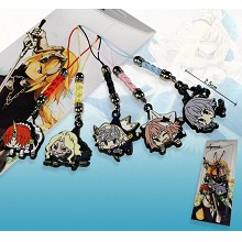 Fate anime phone straps(5pcs a set)