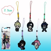Noragami anime phone straps(5pcs a set)