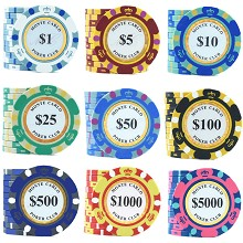 Baccarat gamble poker chip counter Commemorative C...