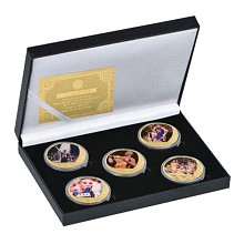 Kobe Bryant Commemorative Coin Collect Badge Lucky...