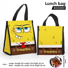 Spongebob anime lunch bag