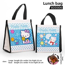 Hello kitty anime lunch bag
