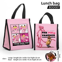 Pink Panther anime lunch bag
