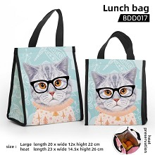 The cat anime lunch bag