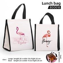 Phoenicopteridae lunch bag