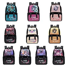 Demon Slayer anime backpack bag