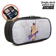 NBA Kobe Bryant single deck pencil bag pen bag