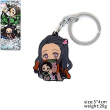 Demon Slayer Kamado Nezuko anime key chain