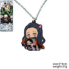 Demon Slayer Kamado Nezuko anime necklace