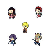 Demon Slayer anime brooch pins