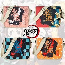 Demon Slayer anime canvas satchel shoulder bag