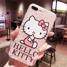Hello kitty iphone 11/7/8/X/XS/XR PLUSH MAX case s...
