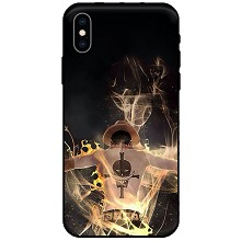 One Piece ACE anime iphone 11/7/8/X/XS/XR PLUSH MAX case shell