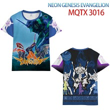 EVA anime modal short sleeve t-shirt