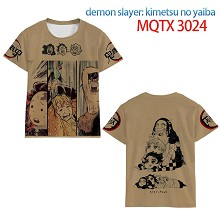 Demon Slayer anime modal short sleeve t-shirt