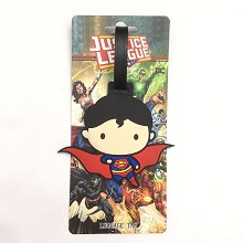 Super Man luggage tag