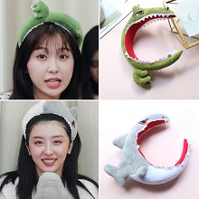 Dinosaur shark cosplay Headband Hairband