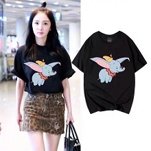 Dumbo anime cotton t-shirt