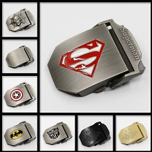 Batman Super Man belt buckle belt fastener