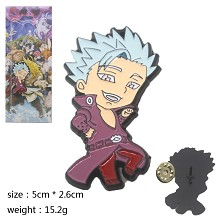 The Seven Deadly Sins Ban anime brooch pin