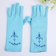 Frozen anime cosplay gloves a pair