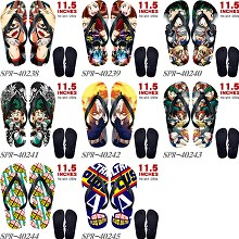 My Hero Academia anime flip flops shoes slippers a...